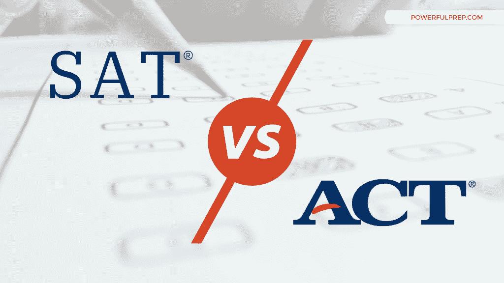 act vs sat logos