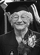 mary fasano Harvards oldest graduate