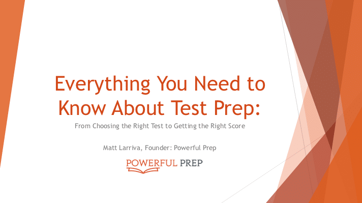 everything you need to know about test prep pdf