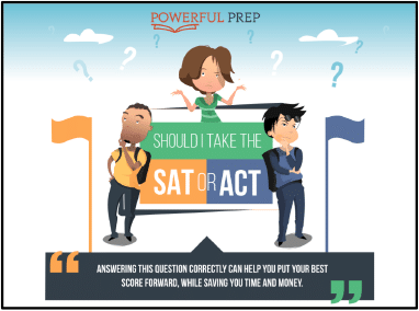 act vs sat infographic