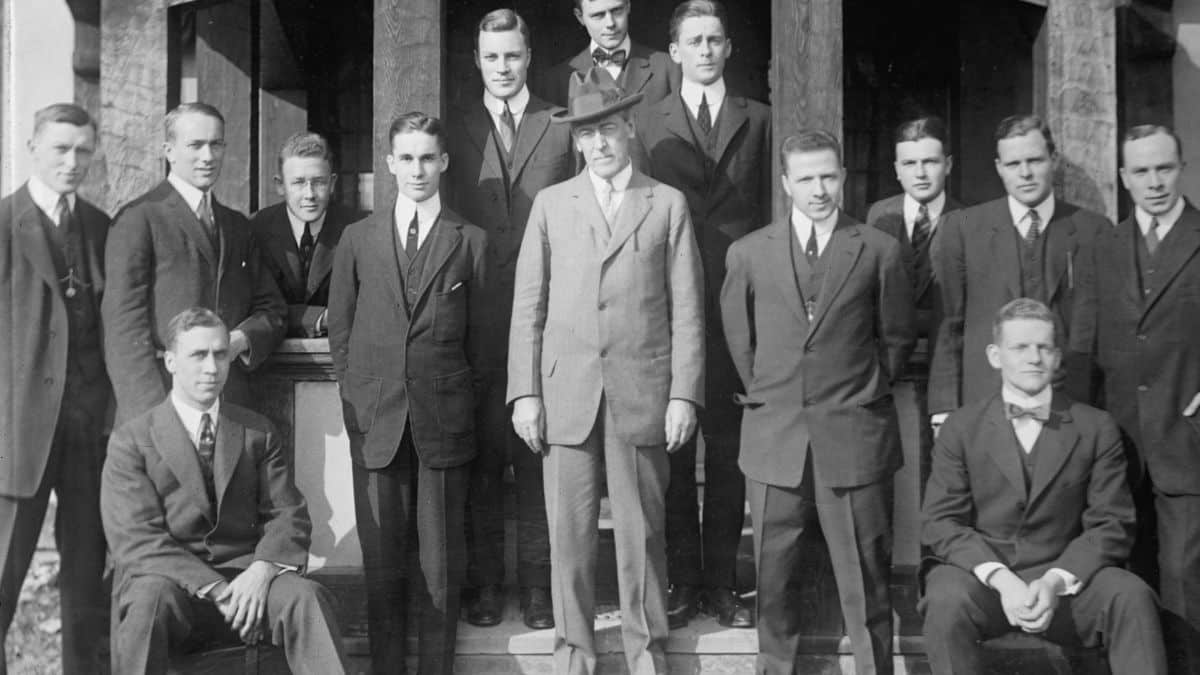 woodrow wilson and Princeton university students