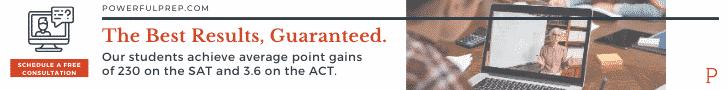 powerful prep test prep consultation ad