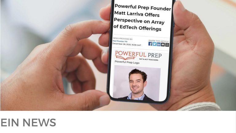 PRESS CLIPPING FEATURING MATT LARRIVA, FOUNDER OF POWERFUL PREP