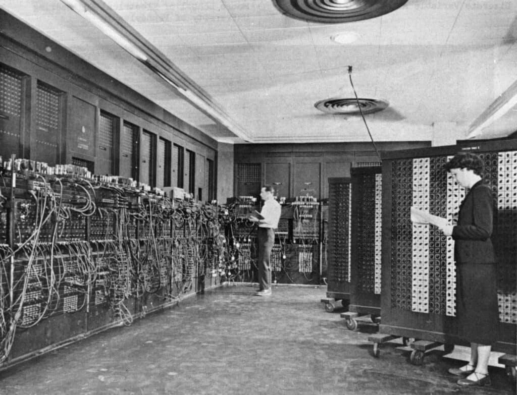 Eniac computer at UPENN