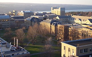 cornell Agriculture Quad viewed from Bradfield Hall by Kevin hall