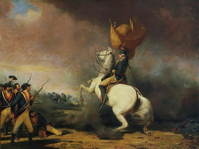 By William Ranney - Princeton University Art Museum - Washington Rallying the Americans at the Battle of Princeton