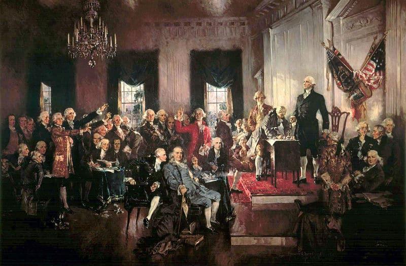 Constitutional Convention including nine Princeton alumni