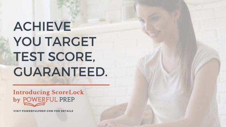 ScoreLock SAT test score guarantee powerful prep